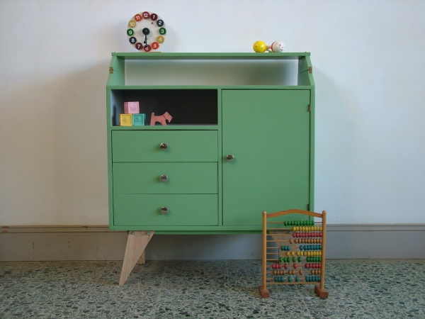 Commode Ladenkast Vintage.Re Staal
